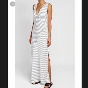 Theory Relaxed Slip Maxi Dress. Size 00. NWT.